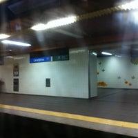 Photo taken at Metro Laranjeiras [AZ] by Orlando Santos A. on 1/16/2013