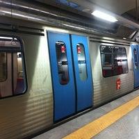 Photo taken at Metro São Sebastião [AZ,VM] by Orlando Santos A. on 3/28/2013
