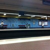 Photo taken at Metro Colégio Militar / Luz [AZ] by Orlando Santos A. on 11/12/2012
