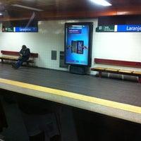 Photo taken at Metro Laranjeiras [AZ] by Orlando Santos A. on 12/2/2012