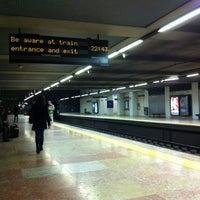 Photo taken at Metro Marquês de Pombal [AM,AZ] by Orlando Santos A. on 11/9/2012