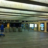 Photo taken at Metro Cais do Sodré [VD] by Orlando Santos A. on 3/29/2013