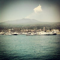 Photo taken at Porto dell'Etna - Marina di Riposto by antonio v. on 6/9/2013