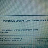 Photo taken at BPKP Perwakilan Provinsi Sumatera Barat by Revelino A. on 10/9/2013