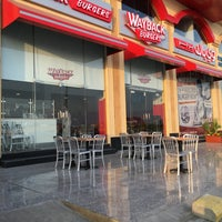 Photo taken at way back burgers by Nasser M. on 1/8/2016