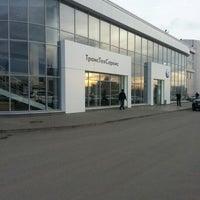 Photo taken at Volkswagen ТрансТехСервис by Lenar on 10/18/2012