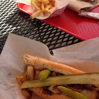 Photo taken at Mike's Chicago Hot Dogs by Cher G. on 4/22/2013