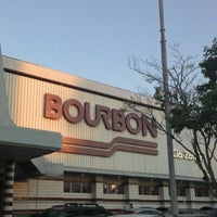 Photo taken at Bourbon Hipermercado by Felipe Henrique F. on 11/5/2012