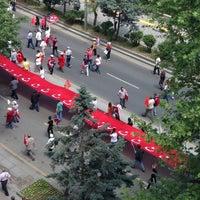 Photo taken at Tandoğan Square by Gökhan Y. on 5/19/2013