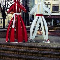 Photo taken at Atlantik Plaza / Площад Атлантески by ♇iliTo ♋. on 2/26/2015
