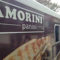Photo taken at Amorini Panini Truck by Matt S. on 8/2/2013