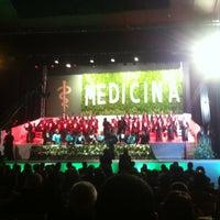 Photo taken at Auditório Yemanjá by Helder B. on 12/20/2012