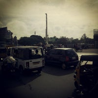 Photo taken at koyambedu signal by Mangalan W. on 10/20/2012