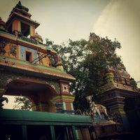 Photo taken at Oachira Temple by Mangalan W. on 10/13/2012