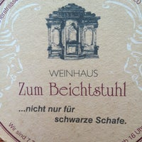 Photo taken at Weinhaus Zum Beichtstuhl by Patricia A. on 5/28/2013