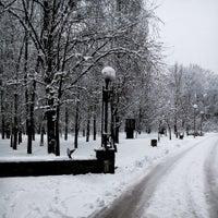 Photo taken at Зупинка «Станція метро «Дорогожичі» by Lelia Z. on 1/20/2015