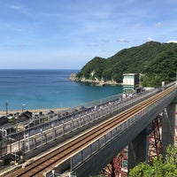 Photo taken at Amarube Station by みけ on 7/1/2018