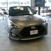 Photo taken at Fenton Hyundai by Martin R. on 10/13/2012