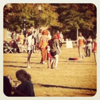 Photo taken at Student Center Green Space by Jenna B. on 10/24/2012