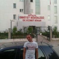 Photo taken at Emniyet Müdürlüğü Ek Hizmet Binası by Metin B. on 7/29/2014