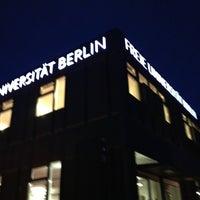 Das Foto wurde bei Freie Universität Berlin von Martin H. am 9/17/2013 aufgenommen
