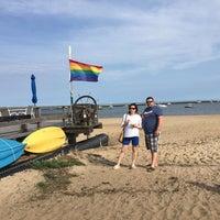Photo taken at Gay Head Beach by Dmitrii K. on 7/28/2017