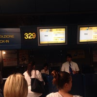 Photo taken at UIA Check-in desk by Svyatoslav S. on 7/21/2014