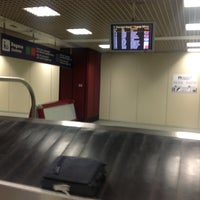 Photo taken at Ritiro Bagagli / Baggage Claim by Svyatoslav S. on 12/21/2012