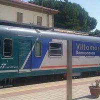 Photo taken at Stazione Villamassargia by Emanuele P. on 7/8/2013