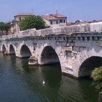Photo prise au Ponte di Tiberio par Emanuele P. le7/7/2013