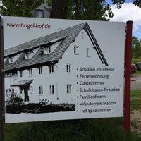 Photo taken at Brigel-Hof by Herr M. on 5/17/2015