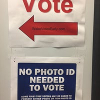 Photo taken at Wake County Board Of Elections by Johnnie B. on 10/21/2016