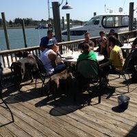 Photo taken at Dockside Restaurant & Bar by Johnnie B. on 4/6/2013