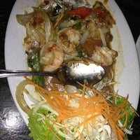 Photo taken at Basil Thai Cuisine by Johnnie B. on 1/24/2013