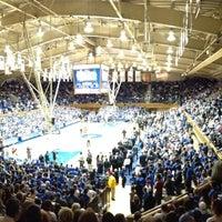 Photo taken at Cameron Indoor Stadium by Johnnie B. on 1/5/2013