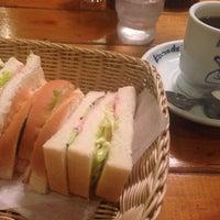 Photo taken at Komeda's Coffee by neko-oyabin on 7/6/2014