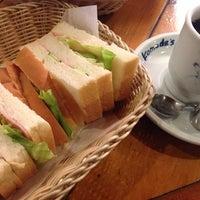 Photo taken at Komeda's Coffee by neko-oyabin on 5/25/2014