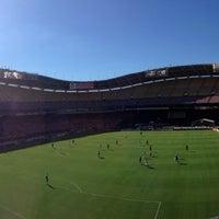 Photo taken at Robert F. Kennedy Memorial Stadium by Sergio R. on 9/14/2013
