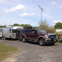 Photo taken at Cain's Creekside RV Park by Matt F. on 4/4/2014