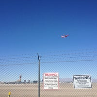 Photo taken at McCarran Airport Runway Observation by Bil B. on 2/27/2013