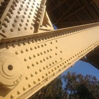 Photo taken at First Avenue Bridge by Bil B. on 8/13/2013
