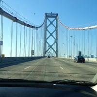 Photo taken at San Francisco-Oakland Bay Bridge by Anne S. on 1/1/2013