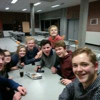 Photo taken at Vrije Basisschool Langemark by Tim A. on 2/21/2016