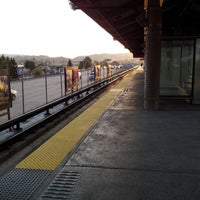 Photo taken at Castro Valley BART Station by Aaron D. on 3/22/2013