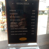 Photo prise au Kiosco Roca par Ximena G. le6/9/2018