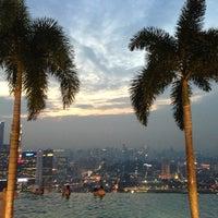 Photo taken at Marina Bay Sands Hotel by Hari N. on 6/26/2013