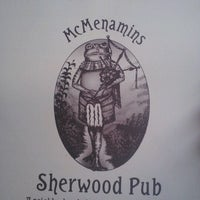 Photo taken at McMenamins Sherwood by Chris M. on 10/20/2012