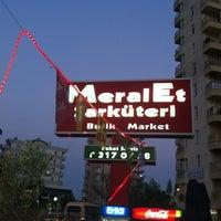 Photo taken at Meral Şarkuteri Butik Market by Uğur Ç. on 8/2/2013