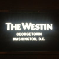 Photo taken at The Westin Georgetown, Washington D.C. by Billy K. on 4/17/2013