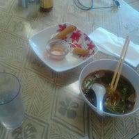 Photo taken at Pho Thai Restaurant by Robert E. on 1/31/2013